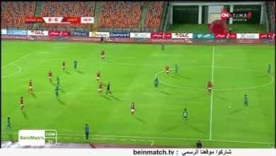 صورة فيديو ملخص مباراة الاهلي ومصر المقاصة في الدوري المصري