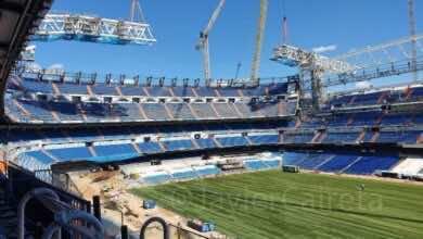 صورة أخبار ريال مدريد : ملعب سانتياجو برنابيو جاهز لاستقبال المباريات