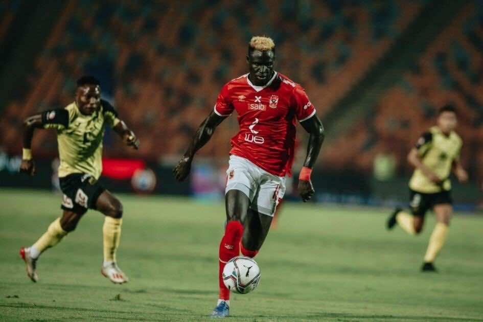 آليو بادجي يتألق مع الاهلي أمام وادي دجلة في الجولة 24 من الدوري المصري