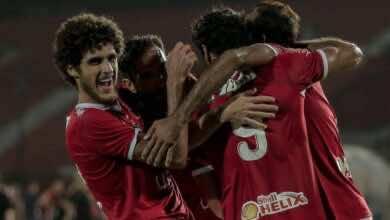 """صورة الأهلي """"بكامل نجومه"""" يهزم طنطا بهدف يتيم في الدوري المصري"""