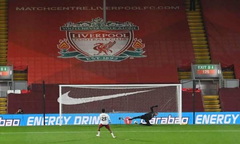 أهداف ليفربول وارسنال في كأس رابطة الأندية الإنجليزية (صور:AFP)