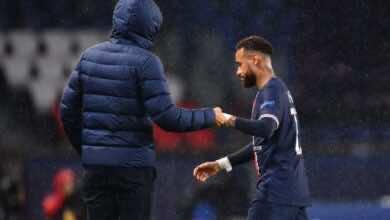 مدرب باريس سان جيرمان يبرر خسارة باريس أمام يونايتد ..