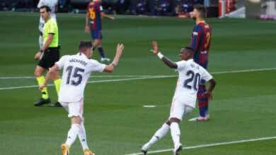 """ملخص مباراة برشلونة وريال مدريد في الدوري الإسباني """"زيدان يستغل تخبط كومان"""""""