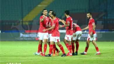 إجراء مسحة طبية للاعبي الأهلي المصري اليوم