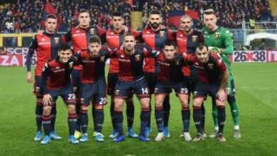 14 عينة إيجابية جديدة بكورونا في فريق جنوى الإيطالي