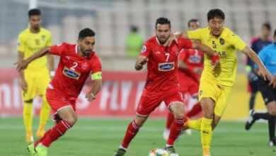 الاتحاد الآسيوي: إيقاف لاعب من بيرسبوليس الإيراني لمدة ستة أشهر