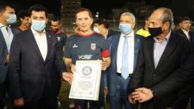 """مصر تظهر في موسوعة """"جينيس"""" بتسجيل أكبر لاعب كرة قدم في العالم"""