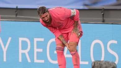 أخبار ريال مدريد | غياب راموس عن التدريبات يهدد مشاركته في دوري أبطال أوروبا