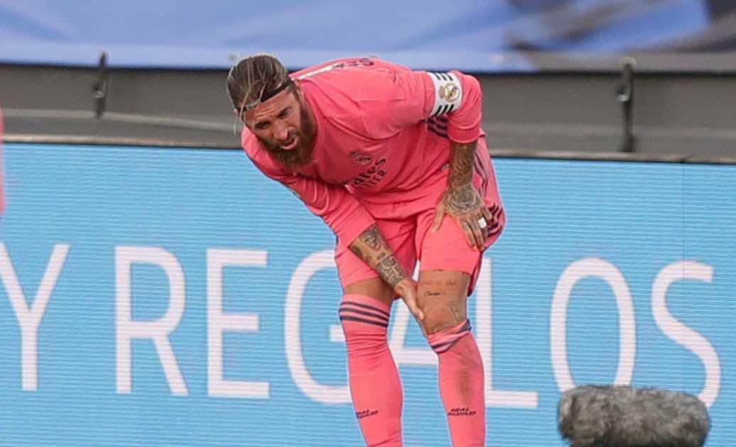أخبار ريال مدريد   غياب راموس عن التدريبات يهدد مشاركته في دوري أبطال أوروبا