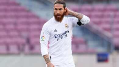 رغم مكانته في الفريق.. لا زال مستقبل راموس مع ريال مدريد معلق في الهواء!