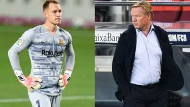 أخبار برشلونة | كومان يحدد موقف تير شتيجن من العودة إلى التشكيلة الأساسية