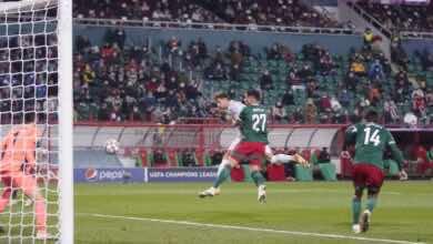 جوريتسكا - أهداف بايرن ميونخ ولوكوموتيف موسكو فى دوري أبطال أوروبا (صور:twitter)