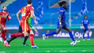 أهداف مباراة الهلال وضمك في الدوري السعودي (صور:twitter)