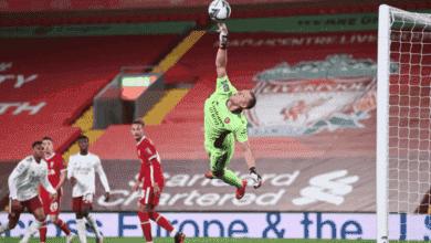 لينو يتعملق في مباراة ليفربول وآرسنال في ثمن نهائي كأس الرابطة الانجليزية المحترفة ويقوده للتأهل - موسم 2021/2020