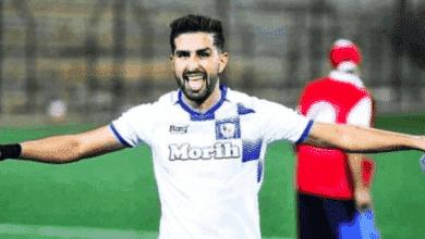 إبراهيم البحراوي لاعب سريع وادي زم هداف الدوري المغربي للمحترفين موسم 2020/2019