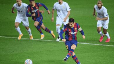 ميسي يحقق رقم قياسي جديد في دوري أبطال أوروبا