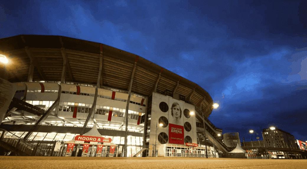 ملعب يوهان كرويف في العاصمة الهولندية أمستردام