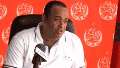 سعيد الناصيري رئيس نادي الوداد البيضاوي