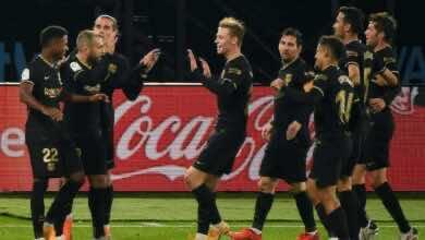 برشلونة يهزم سلتا فيغو ويواصل اكتساح خصومه بنتائج عريضة وأداء مثير (صور:AFP)