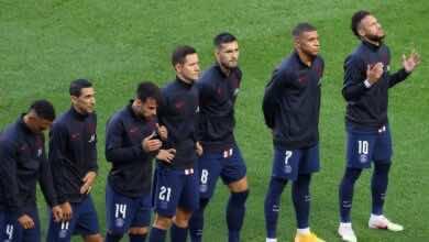 نيمار ، تشكيلة باريس سان جيرمان في دوري ابطال اوروبا 2021/2020