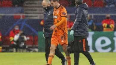 الإصابة تبعد آرون رامسي عن يوفنتوس أمام لاتسيو بالدوري الإيطالي