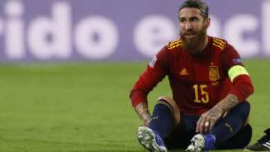 راموس قائد ريال مدريد يغيب عن مواجهة إنتر ميلان