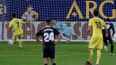 مورينو لاعب فياريال: أتيحت لنا الفرص للفوز أمام ريال مدريد