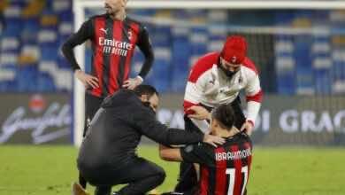 ميلان سيفتقد خدمات هداف الدوري الإيطالي لمدة أسبوعين على الأقل..