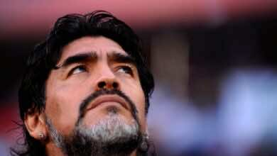 """شيلتون: مارادونا وضع الملح على الجرح بهدف """"يد الرب"""" - صور AFP"""