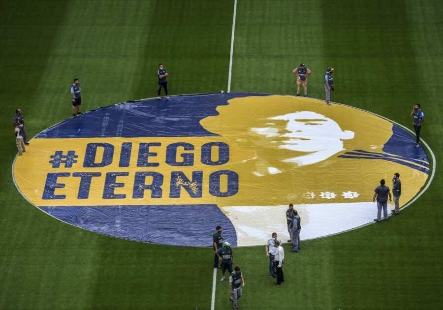 ملعب مارادونا: هكذا يبقى دييجو دائمًا معنا