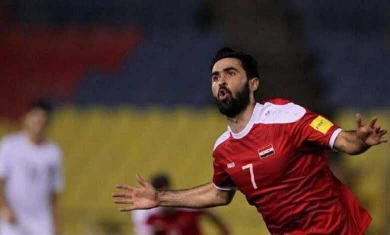 حرمان عمر خربين من تمثيل منتخب سوريا نهائيًا