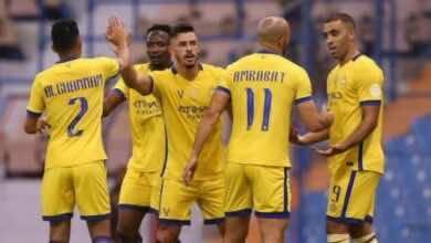 لجنة الإنضباط والأخلاق تغرم 4 لاعبين من ناديي النصر والعين السعودي