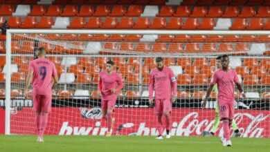 أوندا ثيرو   لا زالت فضحية فالنسيا تلقي بظلالها على غرف ملابس ريال مدريد