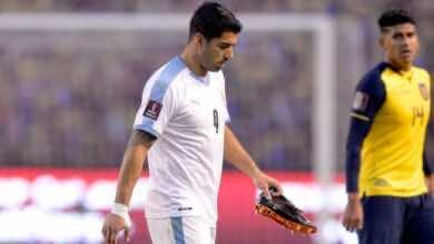 قبل أيام من مواجهة برشلونة.. لويس سواريز يصاب بفيروس كورونا