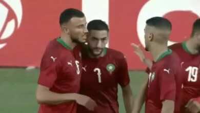 """ملخص مباراة المغرب وأفريقيا الوسطى في تصفيات أمم أفريقيا """"أسود الأطلس تضع قدمًا في كان الكاميرون"""""""