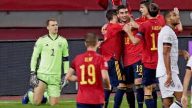 """ملخص مباراة اسبانيا والمانيا في دوري الأمم الأوروبية """"إنريكي يأخذ ثأر برشلونة"""""""