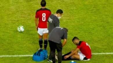 حسام البدري يكشف تفاصيل إصابة أيمن أشرف أمام توجو