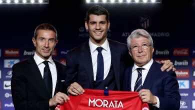سوق الانتقالات| رئيس أتلتيكو مدريد مستعد لبيع موراتا إلى يوفنتوس