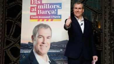 رئاسة برشلونة | إميلي روسو يعد بالتوقيع مع نيمار وتسمية الملعب باسم ليو ميسي