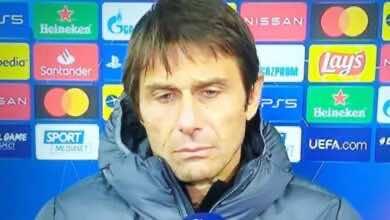 """كونتي بعد خسارة الإنتر امام ريال مدريد.. """"أشعر بمرارة شديدة"""""""