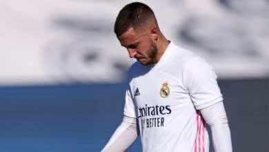 أخبار ريال مدريد   صحفي إسباني يتهم هازارد بالغرور بعد عدم احتفاله بهدفه الاخير!