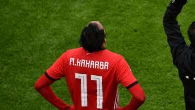 الأهلي المصري يعلن سلبية مسحة لاعبه محمود كهربا