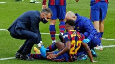 صدمة في برشلونة بسبب مدة غياب فاتي بعد إصابته في الركبة