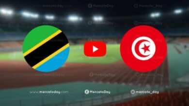 أهداف تونس وتنزانيا