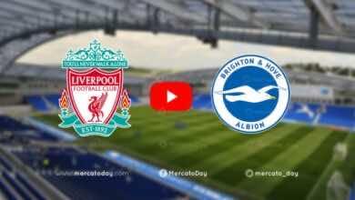 بث مباشر مباراة ليفربول برايتون الدوري الانجليزي