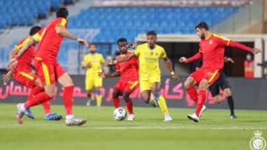أهداف مباراة النصر والقادسية في الدوري السعودي (صور:twitter)