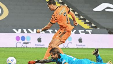هدف رونالدو في اول مباراة له مع يوفنتوس بعد كورونا امام سبيزيا