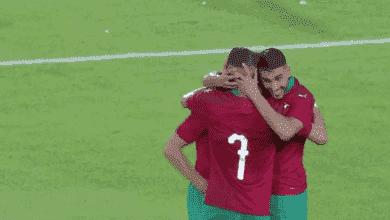 حكيم زياش يقود المغرب للفوز على أفريقيا الوسطى
