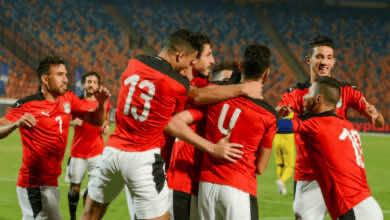 محمود حمدي الونش يسجل هدف فوز مصر على توجو في تصفيات أمم أفريقيا 2021 - Egypt