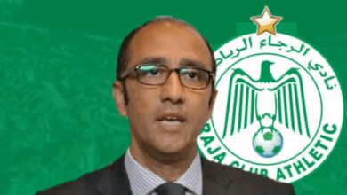 جواد الزيات رئيس الرجاء البيضاوي - Raja